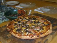 Venison Chipotle Pizza